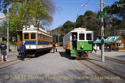 Snaefell Mountain Railway - April 08, 2017