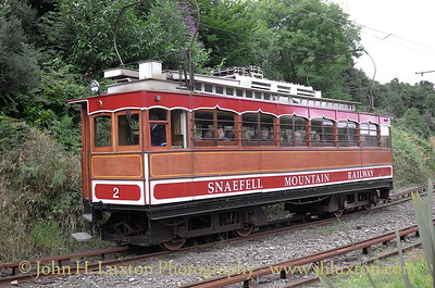 The Snaefell Mountain Railway - 2016
