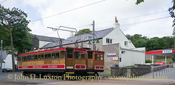 Snaefell Mountain Railway - July 29, 2017