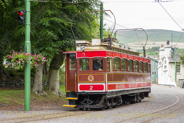 The Snaefell Mountain Railway - July 26, 2019