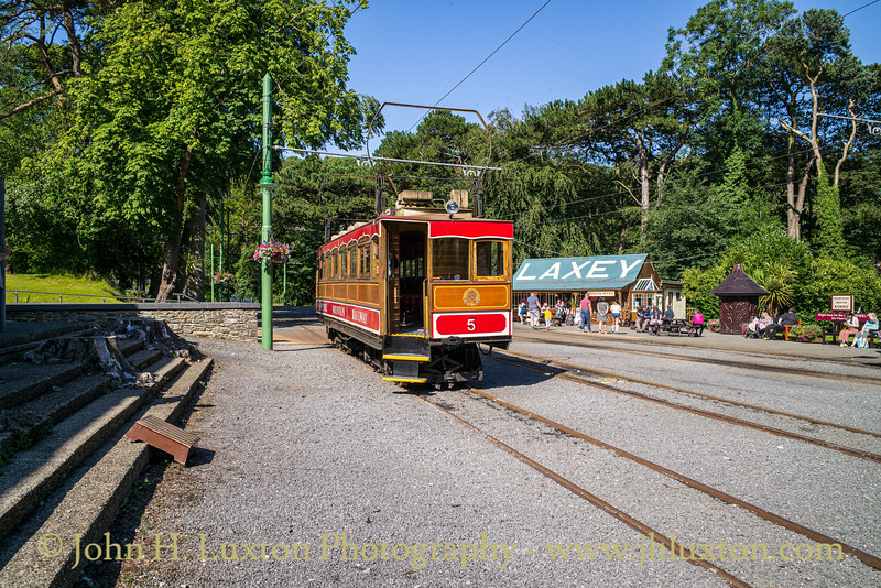 The Snaefell Mountain Railway - July 29, 2019