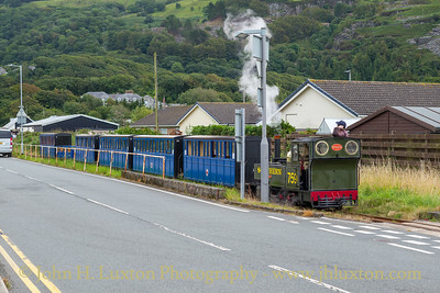 Fairbourne Railway, August 08, 2020