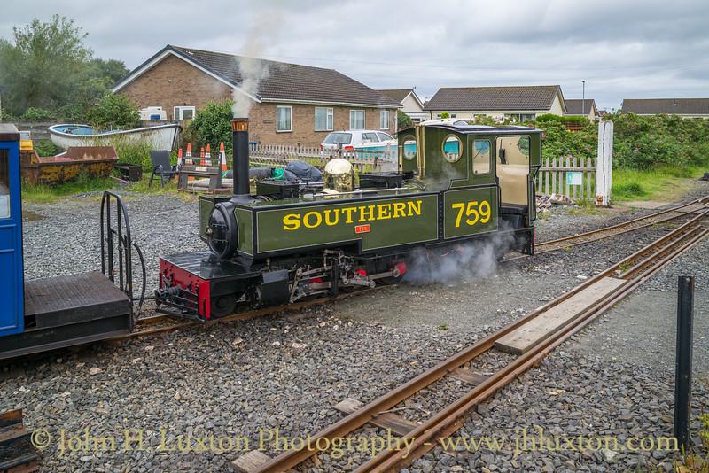 Fairbourne Railway, August 06, 2020