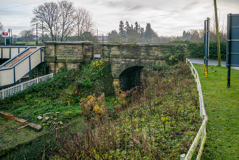 Glyn Valley Tramway, Chirk Station, December 11, 2020