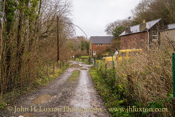 Minera Lead Mines Railway, Wrexham, Denbighshire - December 17, 2020