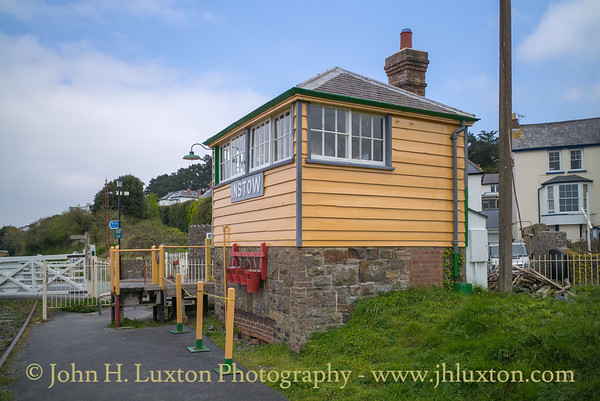 Instow Station and Signal Box, Devon - April 10, 2019