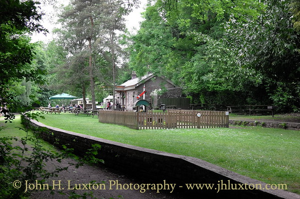 Tintern Railway Station, Monmouthshire, Wales. June 01, 2016