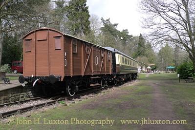 Tintern Railway Station, Monmouthshire, Wales. April 08, 2016