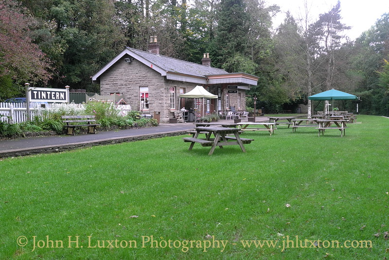 Tintern Railway Station, Monmouthshire, Wales . October 25, 2013
