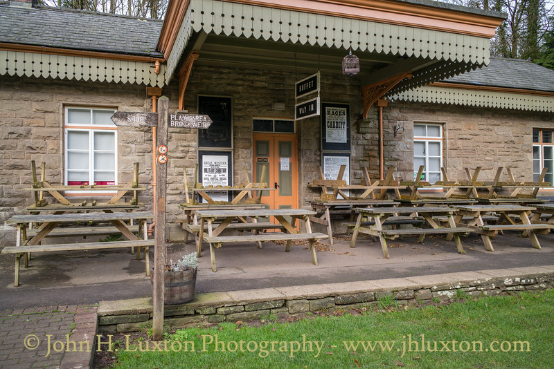 Tintern Railway Station, Monmouthshire, Wales - December 30, 2018