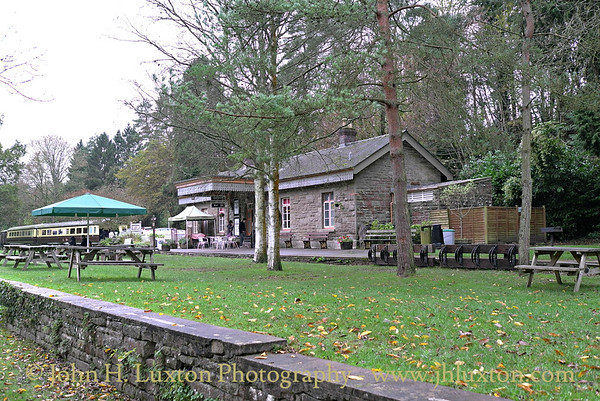 Tintern Railway Station, Monmouthshire, Wales . October 29, 2014