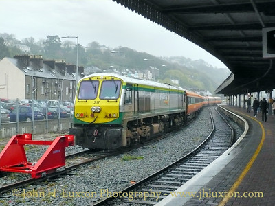 Cork Kent Station, Cork City, County Cork, Eire - April 15, 2009