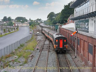 Cóbh Station, Cóbh, County Cork, Eire - July  27, 2004