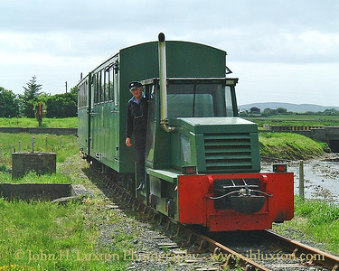 West Clare Railway, Moyasta Junction, County Clare, Eire - May 21, 2001