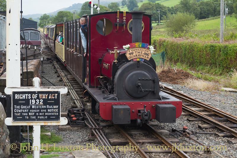 Bala Lake Railway - August 06, 2019