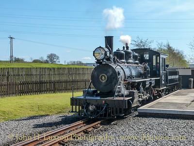 Brecon Mountain Railway - April 15, 2014