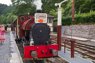 The Corris Railway - August 13, 2017