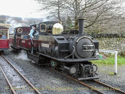 Ffestiniog Railway - December 30, 2007