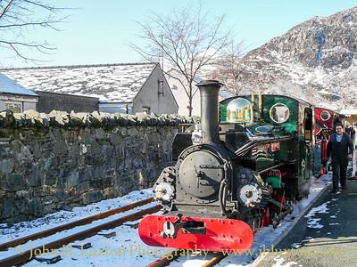 Ffestiniog Railway - February 17, 2010