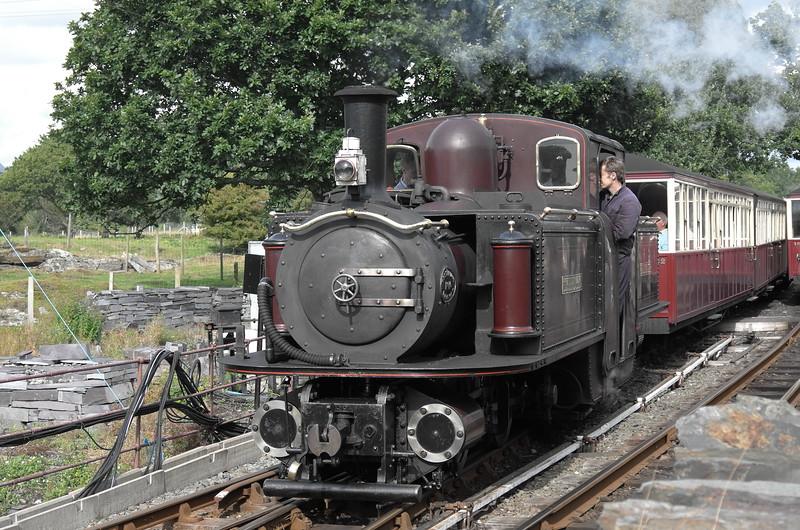 Ffestiniog Railway, August 22, 2014