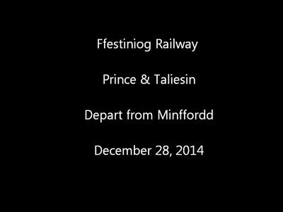 FR Minffordd 281214