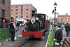 Ffestiniog Railway at Canning Dock - May 07, 2016