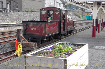 Ffestiniog Railway - April 30, 2016 - May Bank Holiday Gala