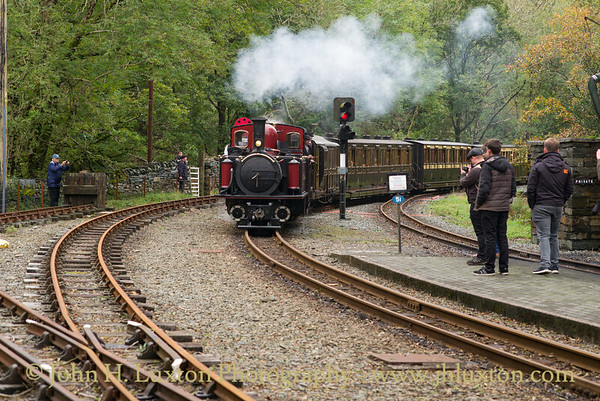 Ffestiniog Railway Victorian Gala Weekend October 2017