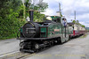 EARL OF MERIONETH departs from Penrhyn on a Porthmadog bound train - May 30, 2013