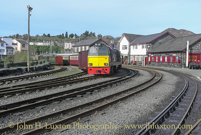 Welsh Highland Railway - April 06, 2011