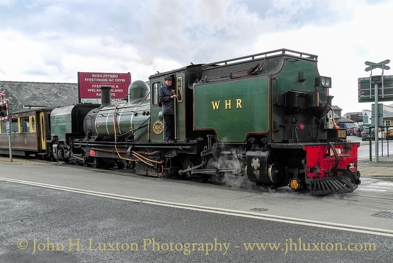 Welsh Highland Railway - April 11, 2013