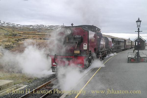 Welsh Highland Railway - April 13, 2013