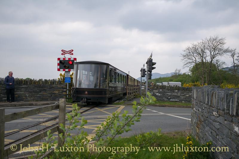 Welsh Highland Railway - May 01, 2017