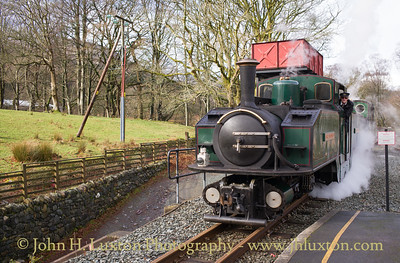 Welsh Highland Railway - February 13, 2018