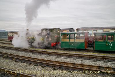 Welsh Highland Railway, Bygones Weekend - October 09, 2021