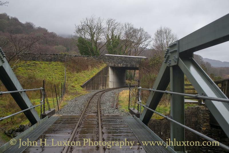 Welsh Highland Railway Journey - February 20, 2019