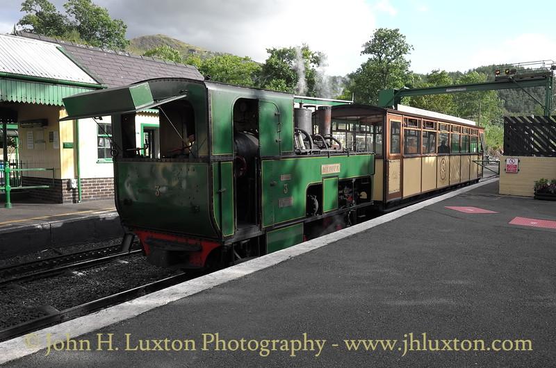 The Snowdon Mountain Railway - August 14, 2014