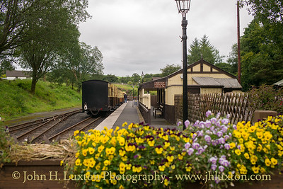 The Vale of Rheidol Railway - August 14, 2017