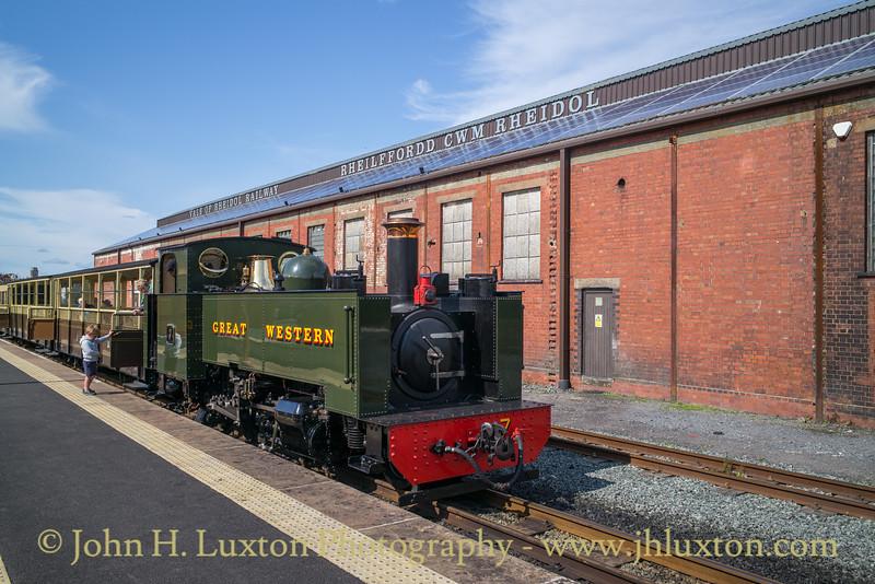 Vale of Rheidol Railway - August 12, 2019