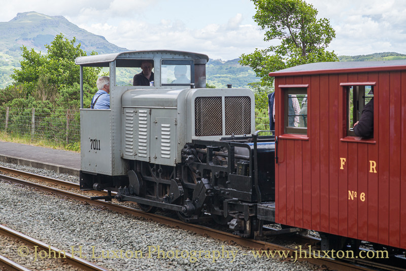 Welsh Highland Railway - Past, Present and Future Gala - June 21, 2019