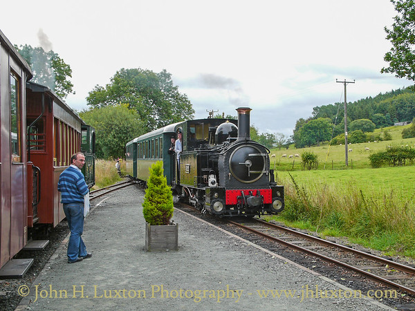 The Welshpool and Llanfair Railway, August 19, 2010