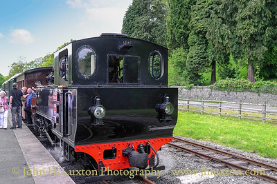 The Welshpool and Llanfair Railway, May 31, 2013