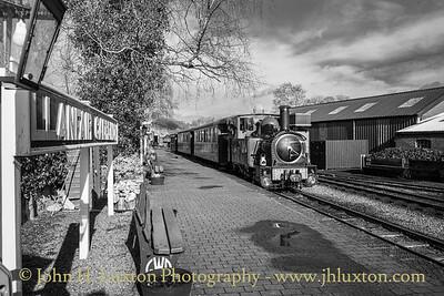 The Welshpool and Llanfair Railway, February 23, 2020