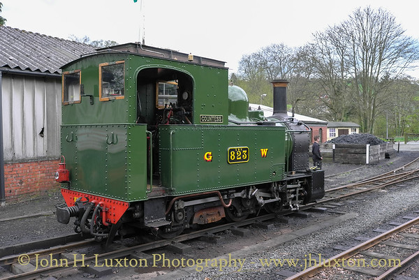 The Welshpool and Llanfair Railway, April 16, 2011
