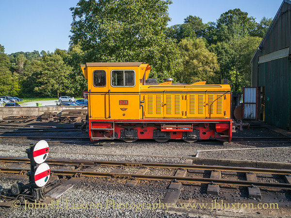 The Welshpool and Llanfair Railway,  September 21, 2019