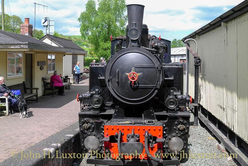 The Welshpool and Llanfair Railway, May 31, 2013