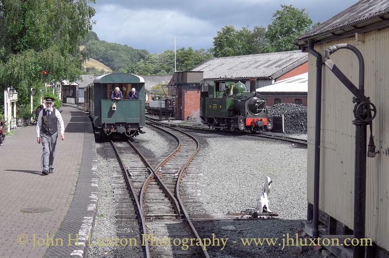 The Welshpool and Llanfair Railway, August 13, 2014