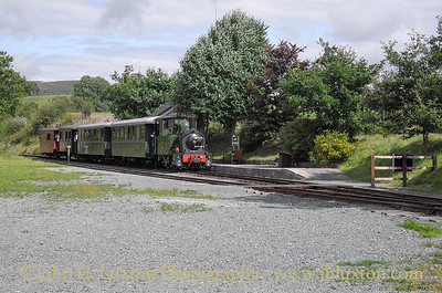 The Welshpool and Llanfair Railway, August 13, 2014