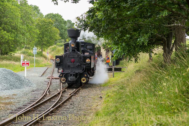 The Welshpool and Llanfair Railway, July 25, 2020