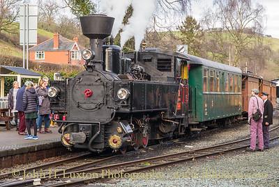 The Welshpool and Llanfair Railway, December 28, 2019